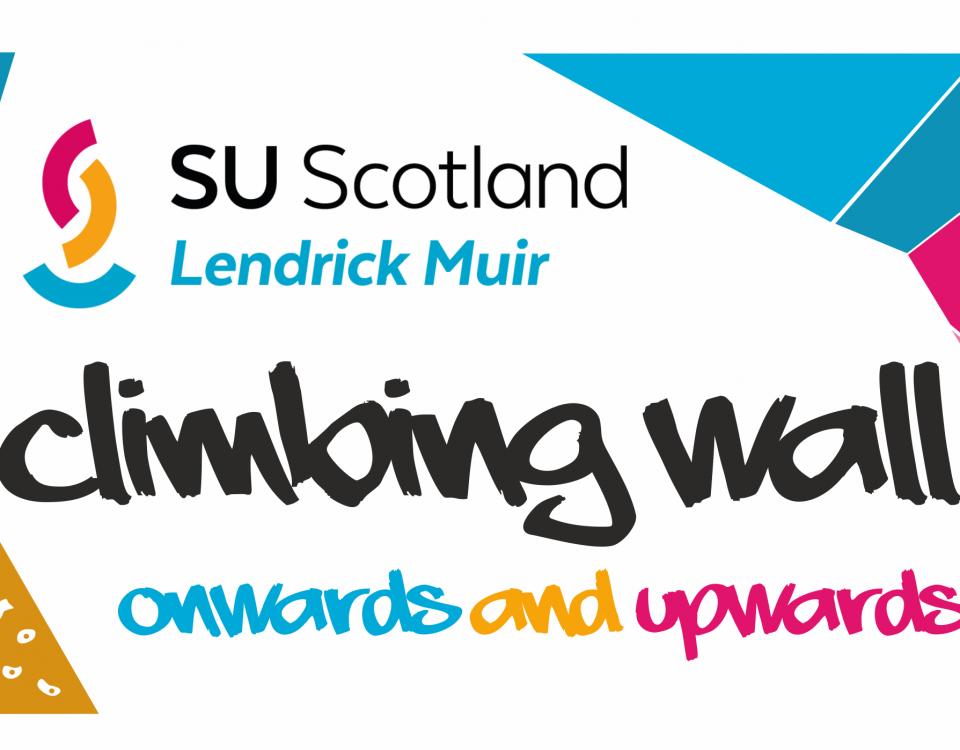 Lendrick Muir climbing wall fundraising